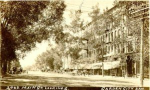 Garden City, Kansas, back in the day