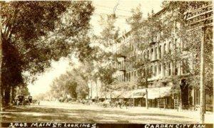 Garden City, Kansas, back in the day