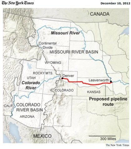 Missouri River Reuse Project via The New York Times