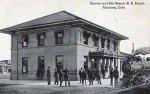 Alamosa railroad depot circa 1912