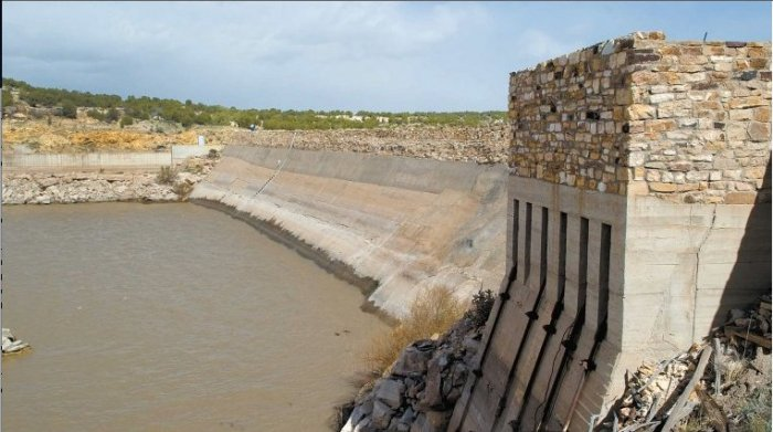 Cucharas Dam via The Pueblo Chieftain