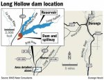 Long Hollow location map via The Durango Herald
