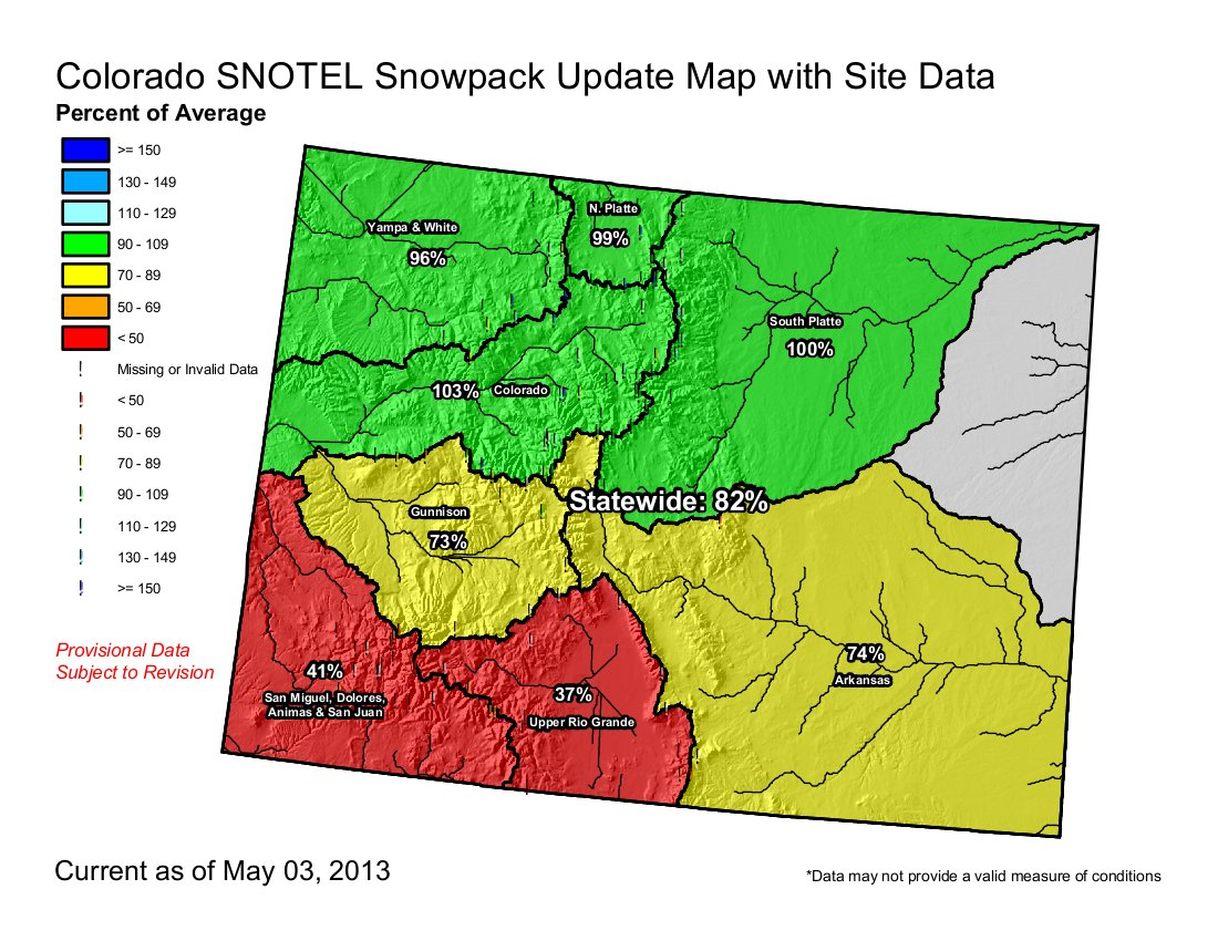 Snowpack Drought News Late Season Storms Boost Prospects For