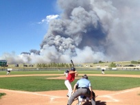 Black Forest Fire June 2013 via CBS Denver