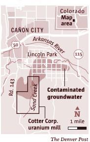 Lincoln Park/Cotter Mill Site via The Denver Post