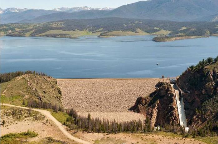 Granby Dam via Reclamation