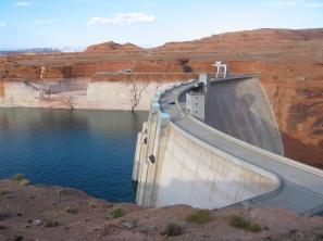 Glen Canyon Dam June 2013 -- Photo / Brad Udall