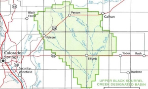 Upper Black Squirrell Creek Designated Groundwater Basin