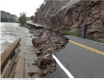 Flood damage Big Thompson Canyon September 2013 -- photo via Northern Water