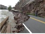 Flood damage Big Thompson Canyon September 2013 -- photo via Northern Water