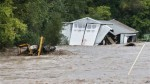 Flooding St. Vrain River September, 2013 via Voice of America