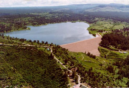 Jackson Gulch Dam photo via USBR