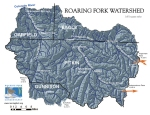 Map of the Roaring Fork River watershed via the Roaring Fork Conservancy