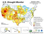 US Drought Monitor October 8, 2013