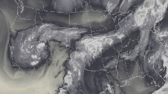 Plume of subtropical moisture streaming into Colorado September 2013 via Weather5280