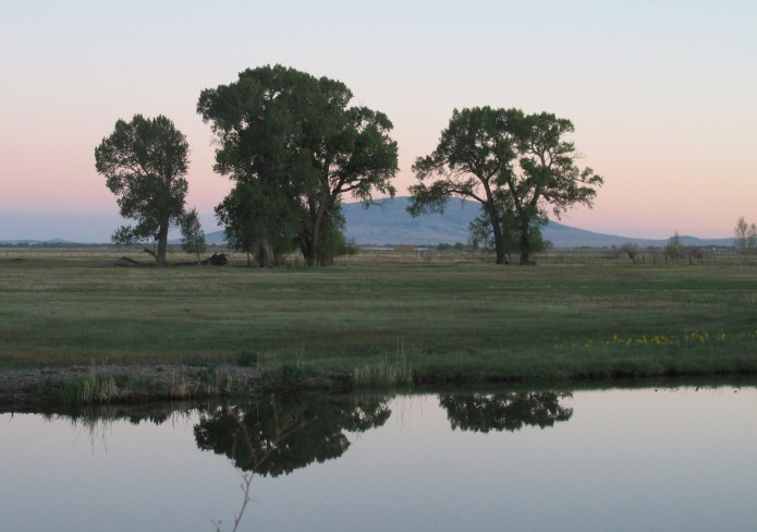 Pond on the Garcia Ranch via Rio Grande Headwaters Land Trust