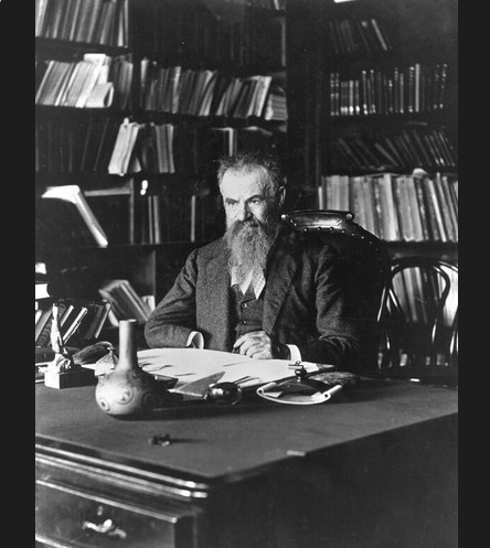 John Wesley Powell at his desk—same desk used by the USGS Director today via the USGS