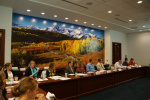 The CFWE Board meets three times per year across Colorado