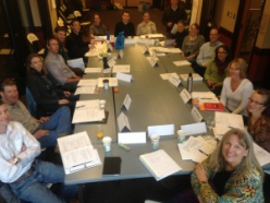 Class of 2014 during their March training with CFWE and MORF Consulting in Greeley