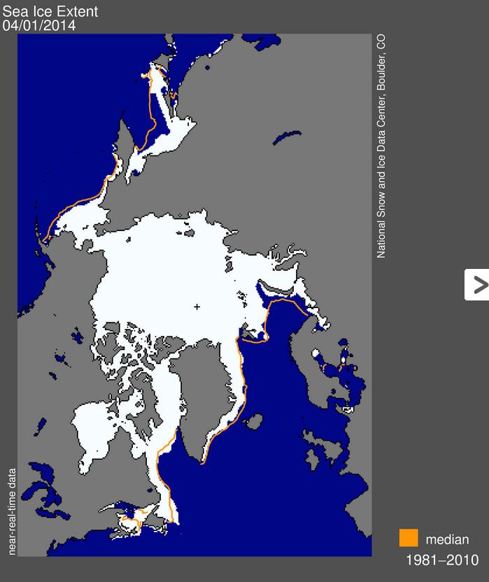 arcticseaiceextent04012014viansidc