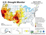 US Drought Monitor April 15, 2014
