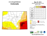 Colorado Drought Monitor May 20, 2014