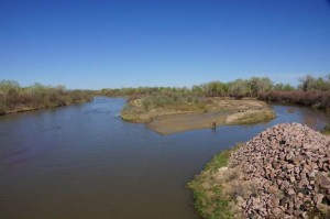 Lower Arkansas River near Bent