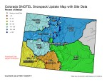 Statewide snowpack map May 13, 2014 via the NRCS