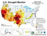 US Drought Monitor May 6, 2014