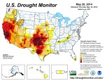US Drought Monitor May 20, 2014