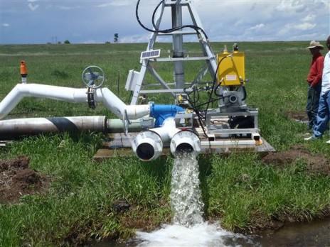 Hydropower sprinkler system via Homelink Magazine