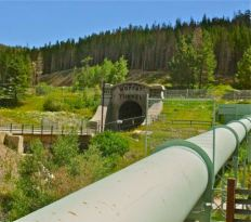 West portal Moffat Water Tunnel
