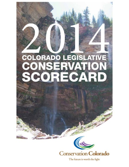 2014legislativescorecard07302014conservationcolorado