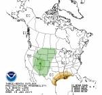 July through September 2014 precipitation outlook via the Climate Prediction Center