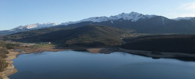 Dillon Reservoir via the Summit County Citizens Voice