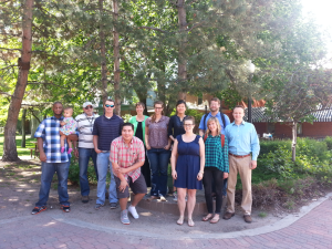 Students from the MSU Denver ENV 290B Water Conservation Management Class created a campus-wide water management plant