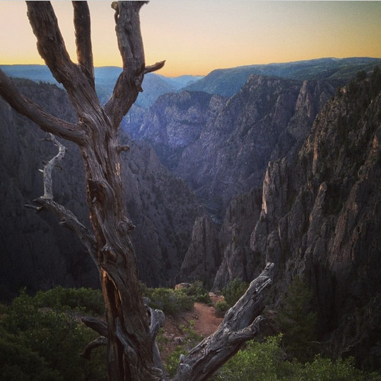 Sunrise Black Canyon via Bob Berwyn