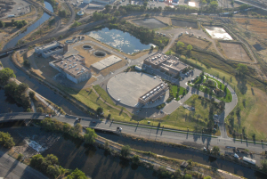 Denver Water's Recycled Water Treatment Plant and Distribution System opened in 2004