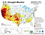 US Drought Monitor September 2, 2014