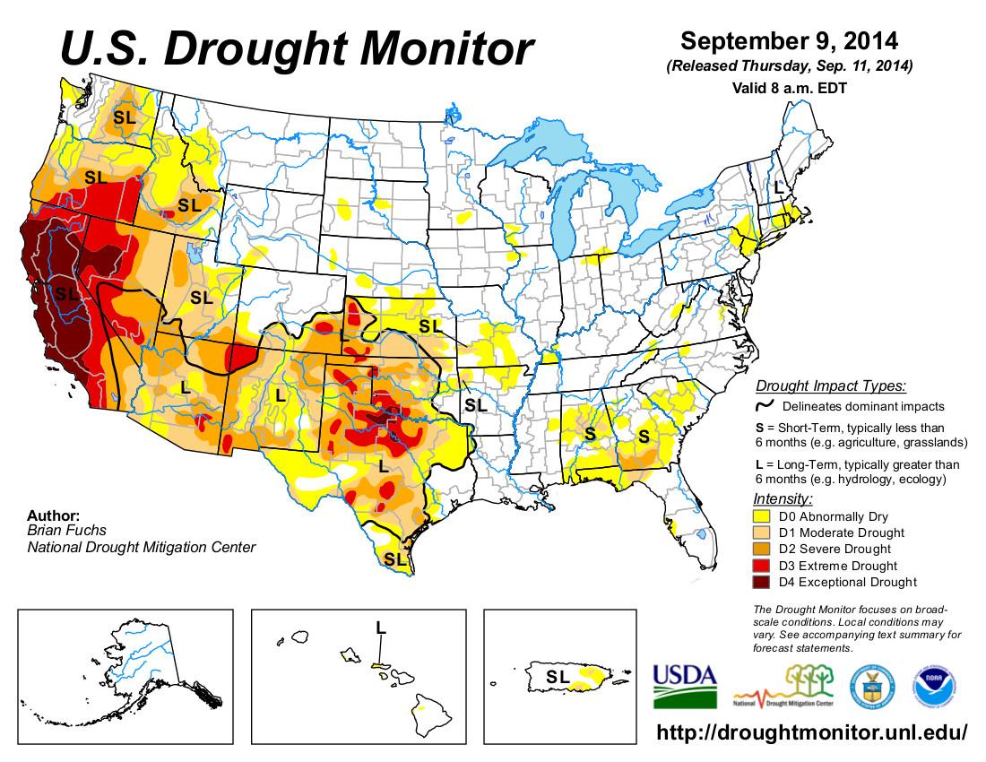 news texas oklahoma drought over