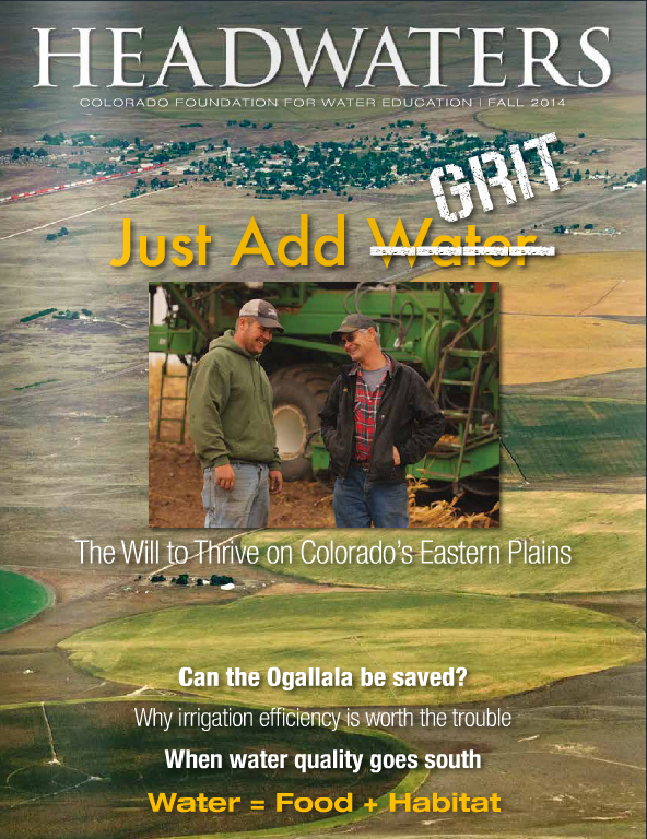 Headwaters magazine Fall 2014 cover