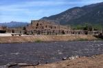 Taos Pueblo via Burch Street Casitas