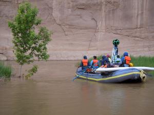 Yampa and Green rivers confluence. Photo credit: Ken Neubecker/American Rivers