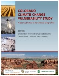 Colorado Climate Change Vulnerability Study cover
