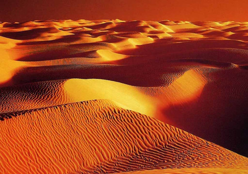 Xinjiang Taklamkan Desert via VisitOurChina.com