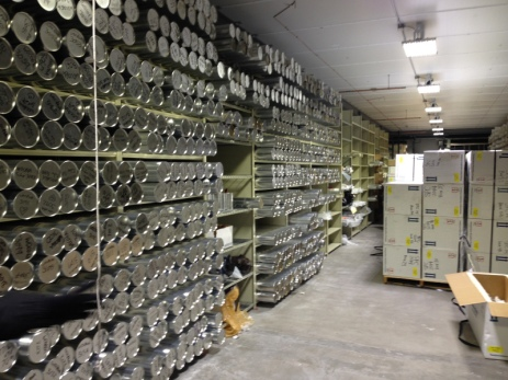 Ice core storage March 13, 2015 National Ice Core Laboratory
