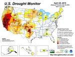 US Drought Monitor April 28, 2015
