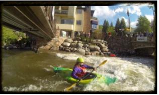 Kayaking Gore Creek via Vail Recreation