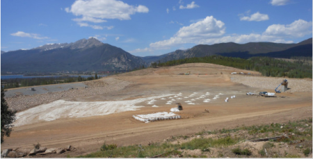 After nearly running out of water during the 2002 drought, the town of Dillon, Colorado worked with state and federal agencies to enlarge an old reservoir to help ensure reliable water supplies during future dry spells. Photo courtesy of Don Sather.