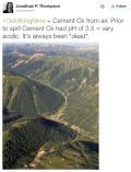 Cement Creek aerial photo -- Jonathan Thompson via Twitter